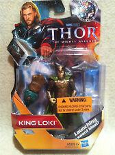 Thor The Mighty Avenger King Loki Figure Factory Sealed!