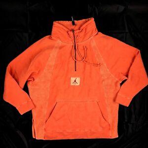 lavada Nike Xs Air Coral capucha Hombre Wings con Orange 939954 Jordan 879 sudadera l xSZUg