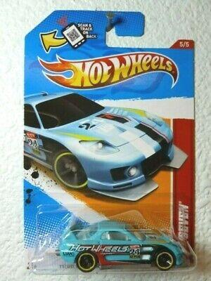 Thrill Racers Race Course /'12 Light Blue Enamel 2012 Hot Wheels 24//SEVEN #185