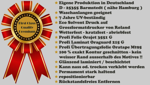 4 cm Mini Auto Aufkleber Alpen Edelweiss RC car Sticker wetterfest UV-beständig