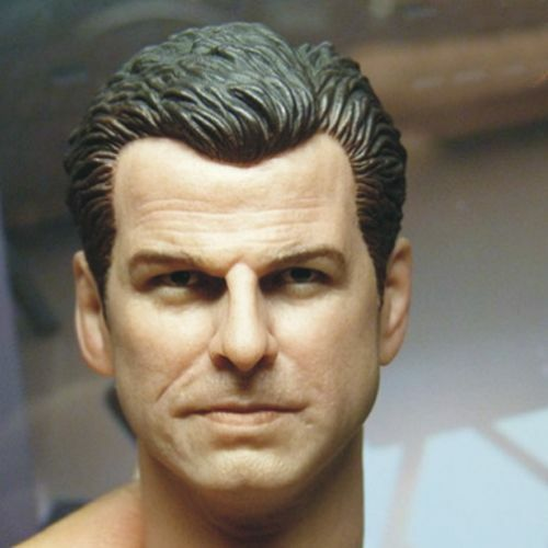 HOT FIGURE Toys 1//6 HEADSCULPT Pierce Brendan Brosnan HEADPLAY James Bond