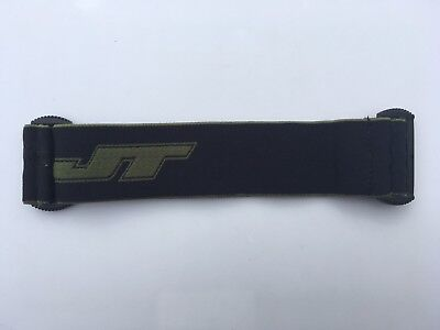 Constructivo New Jt Proflex Black & Green Strap Paintball Mask Goggle Spectra Proshield Flex