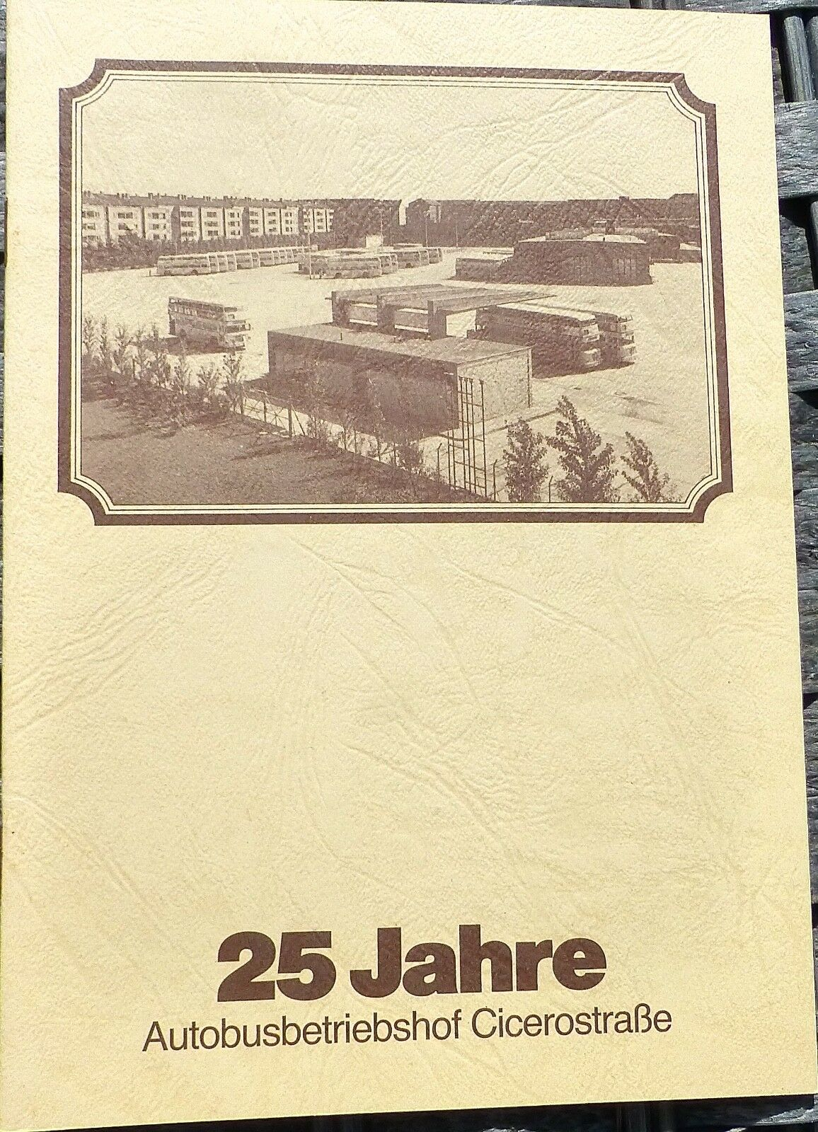 25 Years Autobusbetriebshof Cicerostraße Hn2 Å