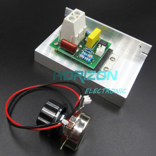10000W AC SCR Voltage Regulator Motor Speed Controller Thermostat Dimmer 220V
