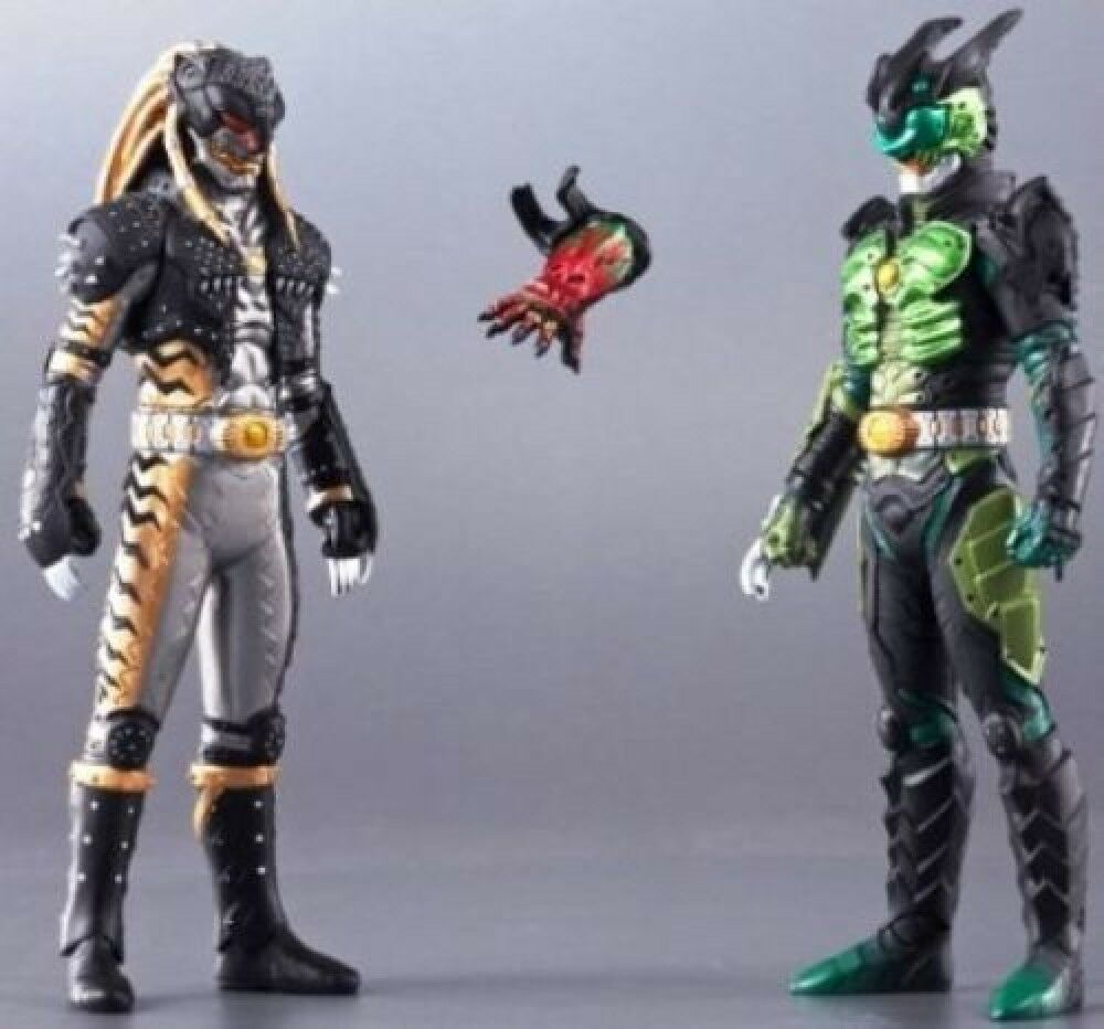 BANDAI Rider Greed Collection EX UVA & KAZARI heavy painted ANKH JAPAN F/S S2993