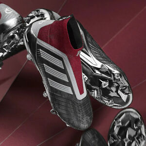 24c42277e adidas PP Predator 18+ FG Football Boots Paul Pogba Iron Laceless ...
