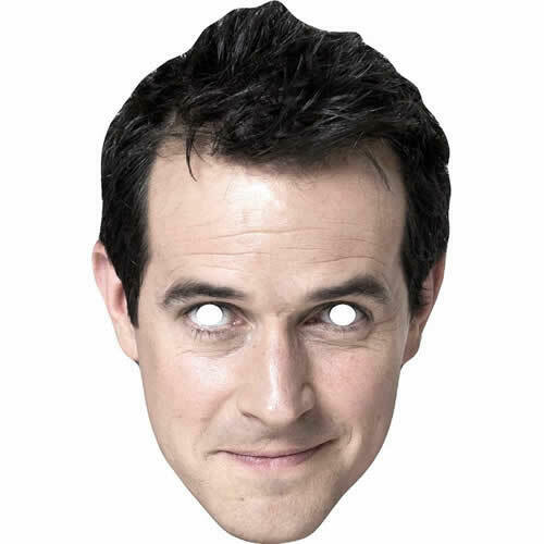 All Masks Are Pre Cut UK Dick and Dom Celebrity Fun Card Mask Dick McCourt