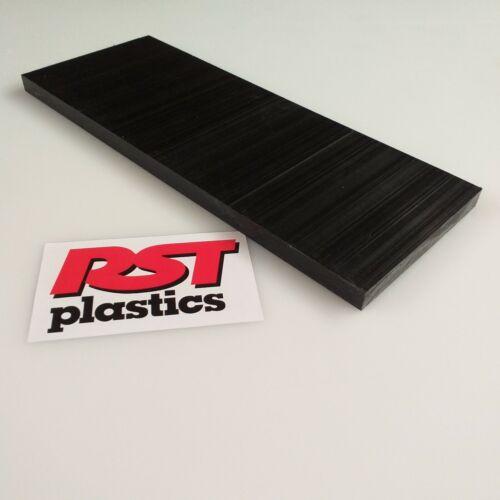 Pom  Sheet 30 mm  Acetal C White Engineering Plastic Various sizes Black