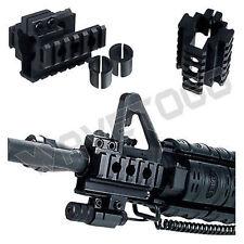 UTG Tri-rail Mount Front Sight Attachment Weaver Aluminum Bayonet Lug 6 Slots
