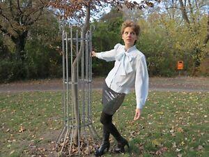 Paillettenrock Rock Mini Argent 90er Truevintage 90 S Ladies Paillettes Skirt-afficher Le Titre D'origine