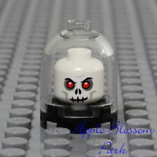LEGO Classic White Skeleton Head Lot of 3 Halloween Potter Adventurer