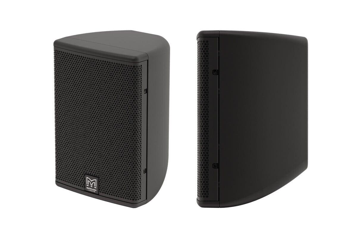 Pair of Martin Audio CDD5 Speakers With Brackets In Original Packaging