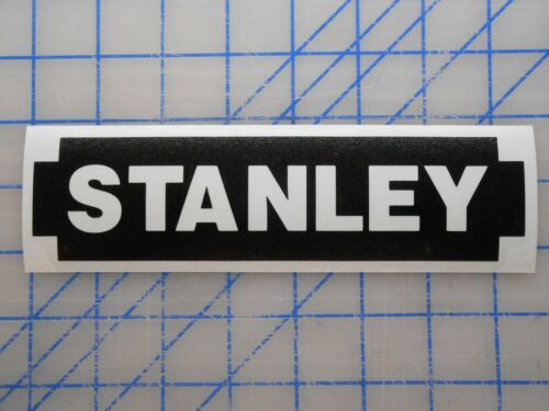 """Stanley Decal Sticker 5.5/"""" 7.5/"""" 11/"""" Tools Box Saw Table Drill Wrench Shop Bit MM"""