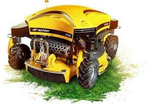 Spider Slope Mower new 2020 Alberta Preview