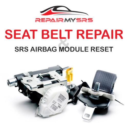 FITS BMW Seat Belt Repair After Accident Pretensioner Rebuild OEM FIX Seatbelts