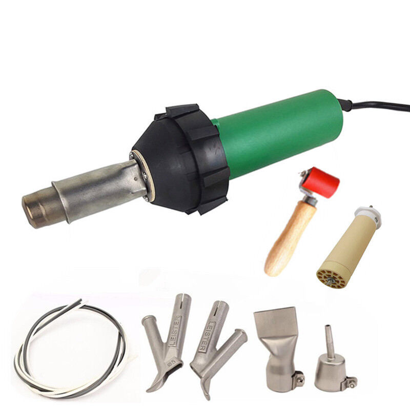 1600w 110V Vinyl Floor Plastic Welder Hot Air Gun  Heat Gun And Accessories