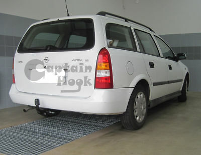 13polig E-Satz neu Für Opel Astra G Caravan 98-04 ORIS Anhängerkupplung starr