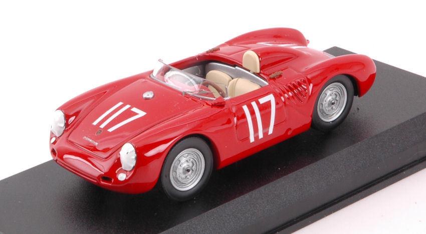 Porsche 550 550 550 th Scca National Thompson 1959 J. Tredter 1 43 Model b4ba29