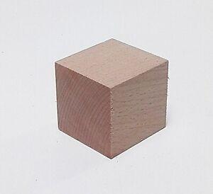 1 holzwürfel 48x48mm Stark planche de bois sondermaße. Meetings massivement kernbuche