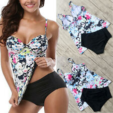1d0e65ca04 item 1 Women's Push Up Tankini Bikini Set Tank Top Boy Shorts Padded  Swimwear Floral AM -Women's Push Up Tankini Bikini Set Tank Top Boy Shorts  Padded ...