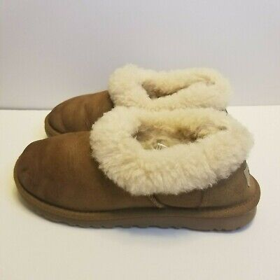 Ugg Womens Size 6 Chestnut 1011894 Shearling Mule Slippers | eBay