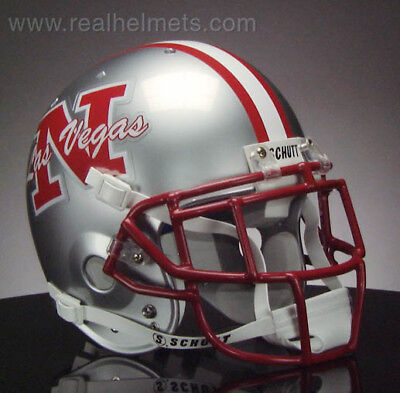UNLV REBELS NCAA Schutt XP Full Size AUTHENTIC Gameday Football Helmet |  eBay