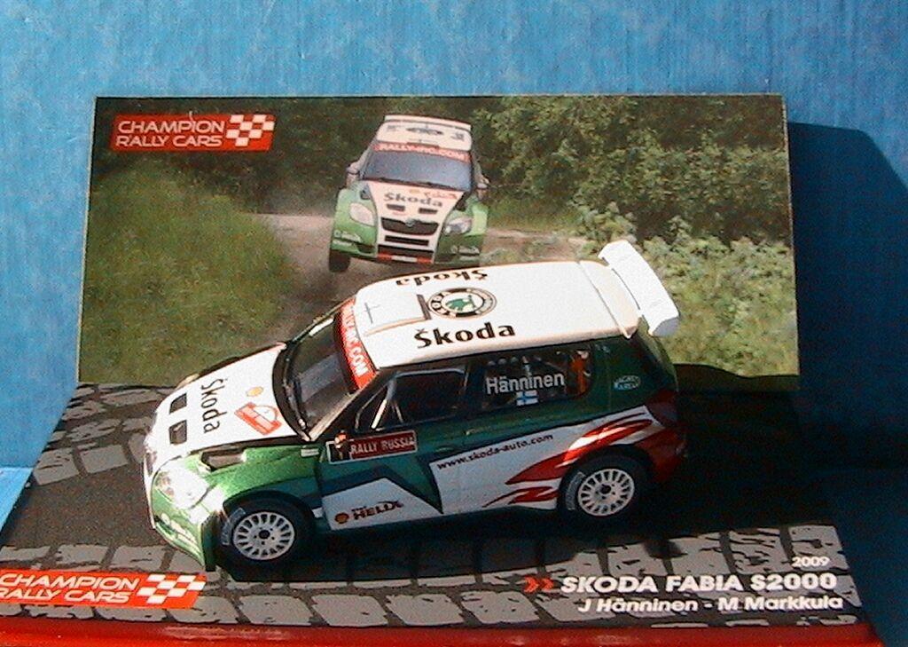 SKODA FABIA S2000 RALLY RUSSIA RUSSIA RUSSIA HANNINEN MARKKULA IXO 1 43 RALLYE RUSSIE 3a0d04