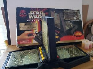 Star Wars Episode I Galactic Battle Electronic Strategy Game 1999 Tiger 88-507