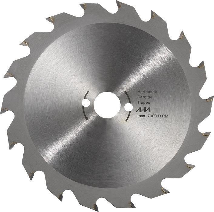 KWB HM Kreissägeblatt Typ M für Spanplatten Ø 184 x 16 x 1,4 mm 22 Zähne M 61