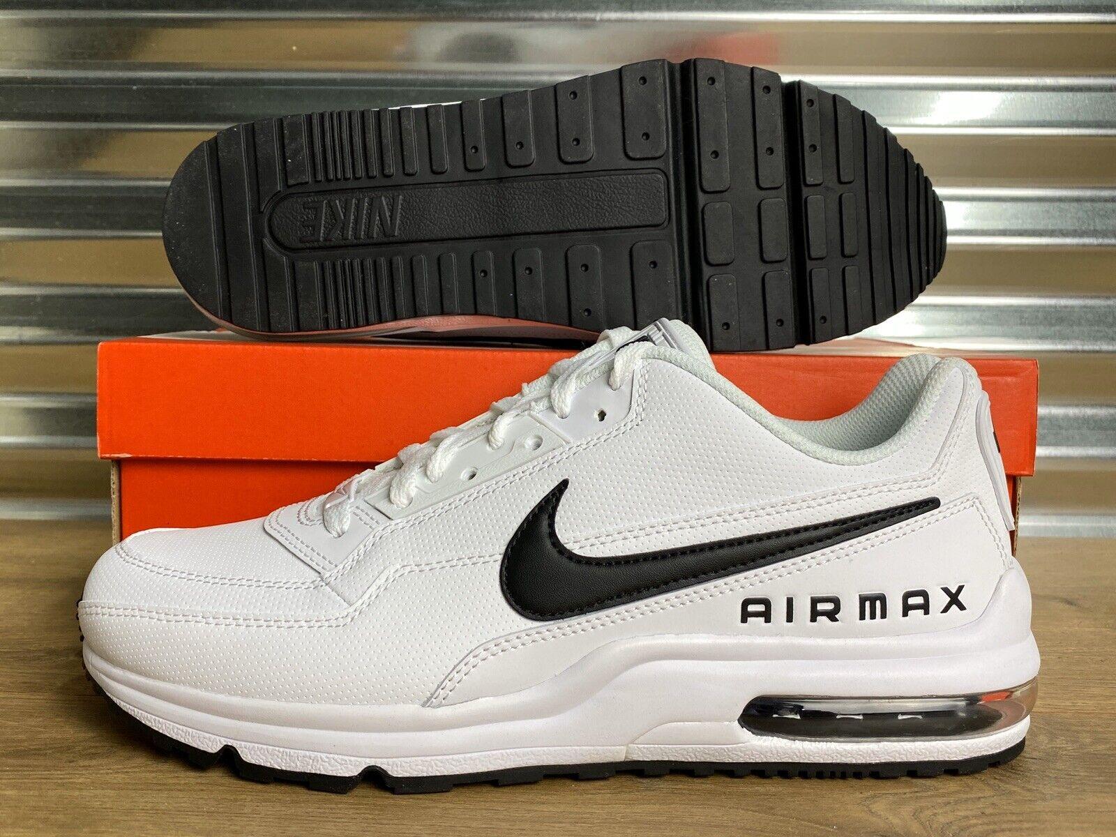 Nike Air Max LTD 3 Shoes White Black OREO Mens SZ ( 687977 107 )