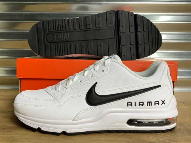 Nike Air Max LTD 3 Shoes White Black OREO Mens SZ ( 687977 107 )
