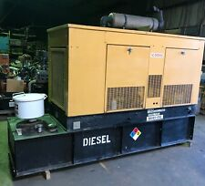 Cat Olympian 60 Kw Diesel Generator Set With330 Hours 150 Gal Tank Withenclosure