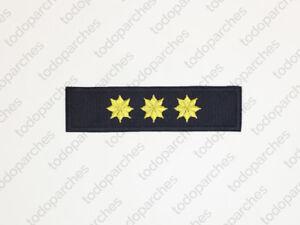 Parche-bordado-3-ESTRELLAS-8-PUNTAS-Coronel