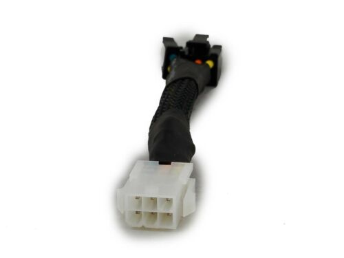 M 6-Pin PCI Express F to 6+2-Pin PCIe Power cable