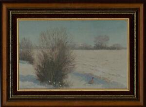 C-Crocker-Signed-and-Framed-20th-Century-Oil-January