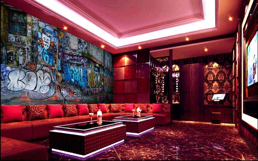 3D Graffiti 209  Photo Papier Peint en Autocollant Murale Plafond Chambre Art