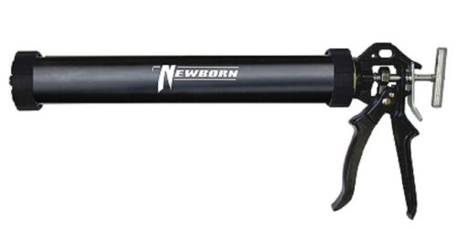 """15/"""" Noir saucisse caulk Gun Newborn 620AL livraison gratuite"""