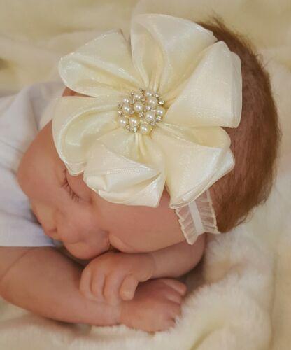 S,M,L NEU!!! Nr.0st85 Bezauberndes Stirnband Baby Haarband Gr
