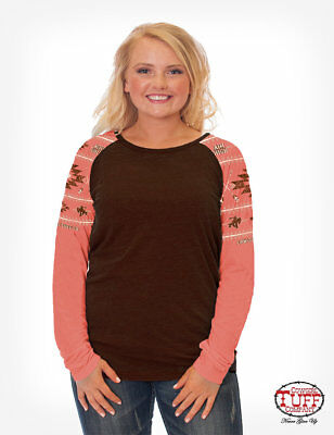Cowgirl Tuff Infant Girl/'s Coral My First Rodeo Graphic Tee S01100