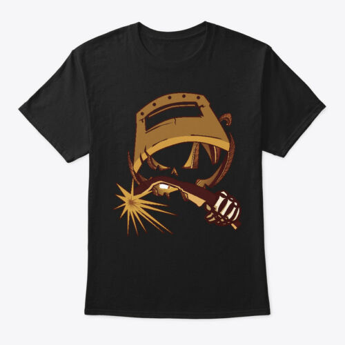 Details about  /Scary Halloween Welder Face Hanes Tagless Tee T-Shirt