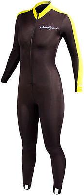 NeoSport by Henderson Lycra Dive Skin Unisex Sport Skin Yellow - Small