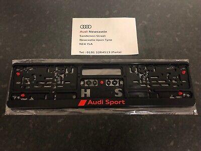 3291900100 Genuine Audi Sport Number Backing Plate Surround Holder