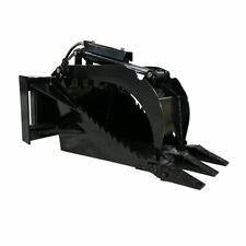 Titan Attachments Mini Skid Steer Stump Bucket Grapple Quick Tach Mounting