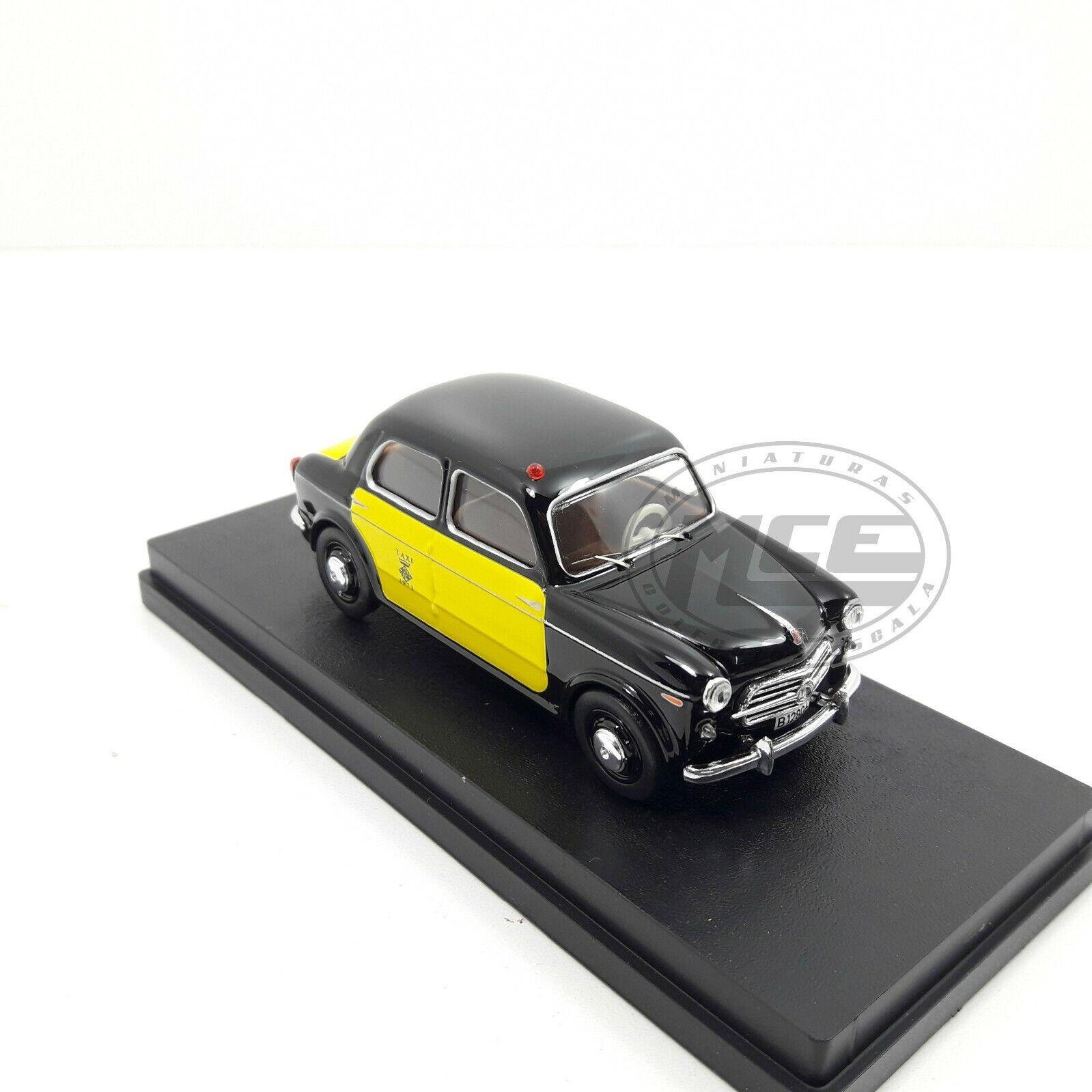 1 43 FIAT 1100  103 103 103 TAXI BARCELONA 1956 RIO NEW NUEVO b74666