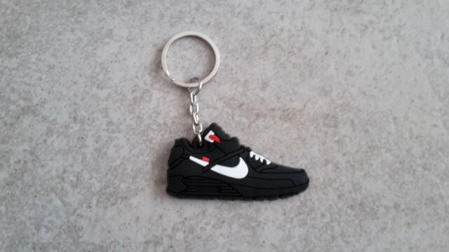 Off White x Nike air max 90 black schlüsselanhänger. Kein 1, jordan, bw, 95, 97.