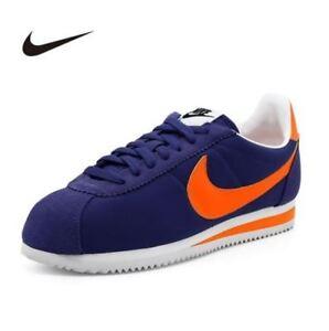 best website d604c 1c3fe Image is loading Nike-Men-039-s-Classic-Cortez-Nylon-Purple-