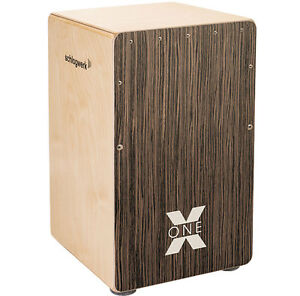Schlagwerk Cp150 X-one Vintage Walnut Cajon Art De La Broderie Traditionnelle Exquise