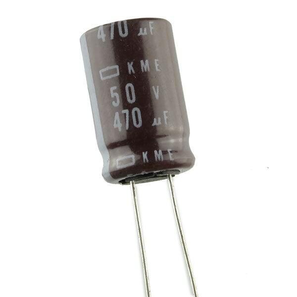 12pcs Nippon Chemi-Con KME 470uF 16v 105C Radial Electrolytic Capacitor