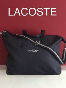 cba3d42c20 Image is loading LACOSTE-Bag-Sports-Weekend-Gym-Holdall-NEW-amp-