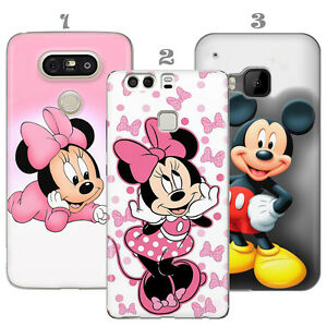 DISNEY-MINNIE-TOPOLINO-REGALO-CUSTODIA-COVER-HTC-M9-10-HUAWEI-P9-LITE-P10-L